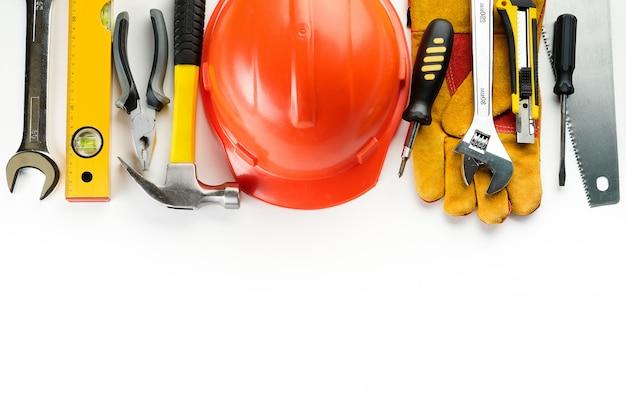 Herramienta para construir una casa y reparar un apartamento