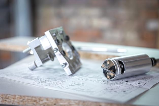Herramienta de perforación de precisión profesional, plantilla para muebles, taladro de bisagra, taladro forstner.