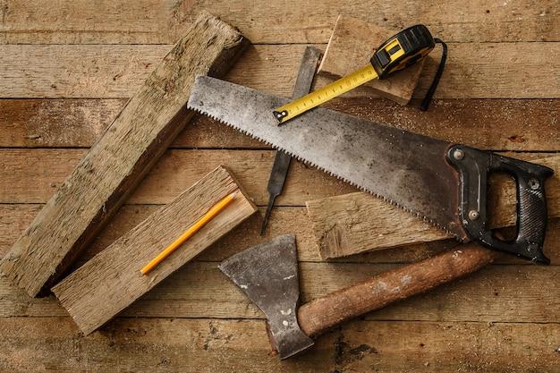 Herramientas de carpintería