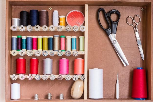 Herramientas de costura y kit de costura.