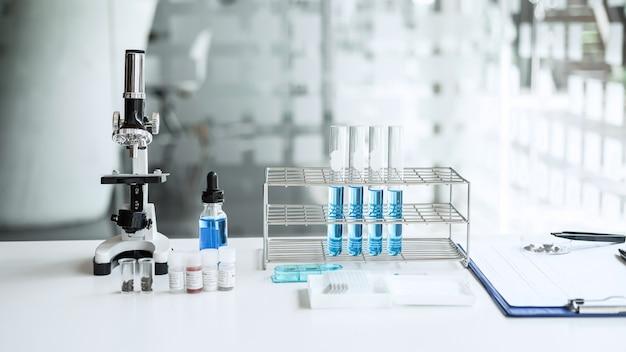 Herramientas de equipo de laboratorio de investigación científica