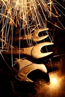 Herramientas de llaves de acero