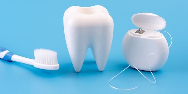 Herramientas sanas del equipo dental para el cuidado dental concepto dental profesional