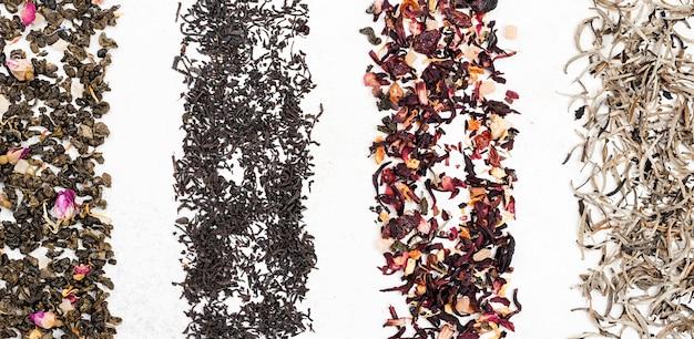 Hierbas naturales para el té