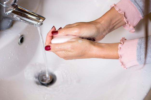 Higiene. limpieza de manos.