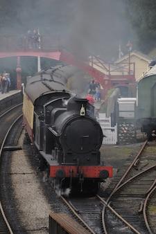 Histórico tren de vapor.