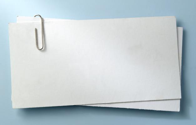 Hoja blanca de papel