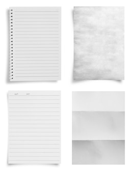 Hoja de fondo de textura de papel con espacio para copiar texto