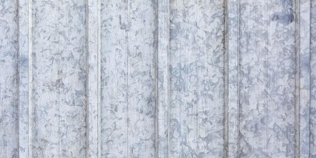 Hoja de metal corrugado textura de fondo techo gris textura
