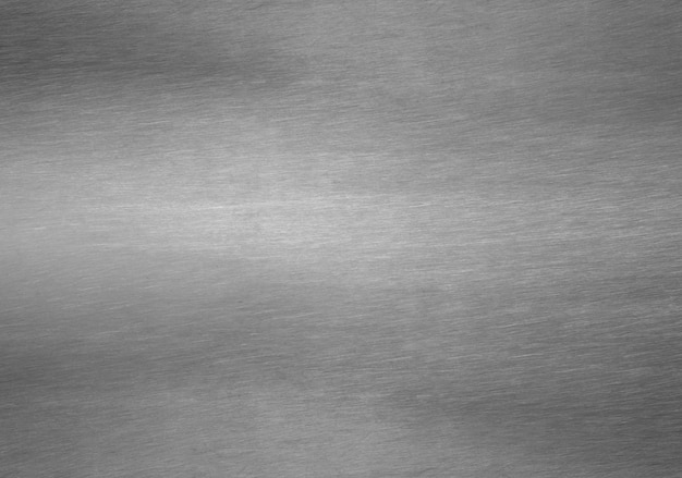 Hoja de metal plateado sólido fondo negro