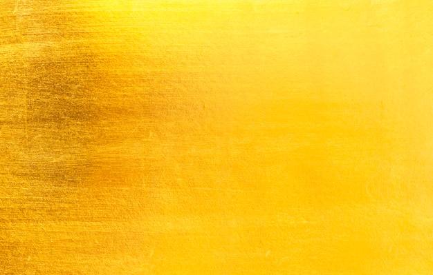 Hoja de oro de hoja amarilla brillante