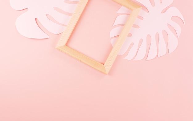 Hojas de palma de corte de papel