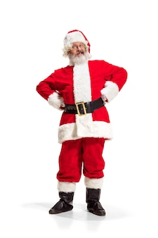 Holly jolly navidad festivo santa claus