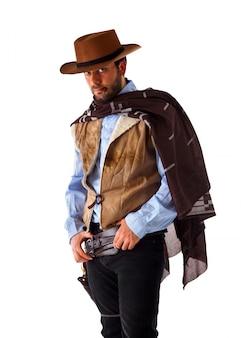 Hombre en lejano oeste