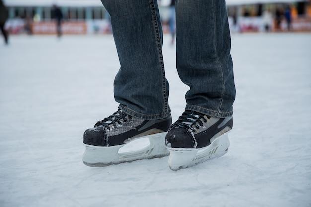 Hombre de patinaje