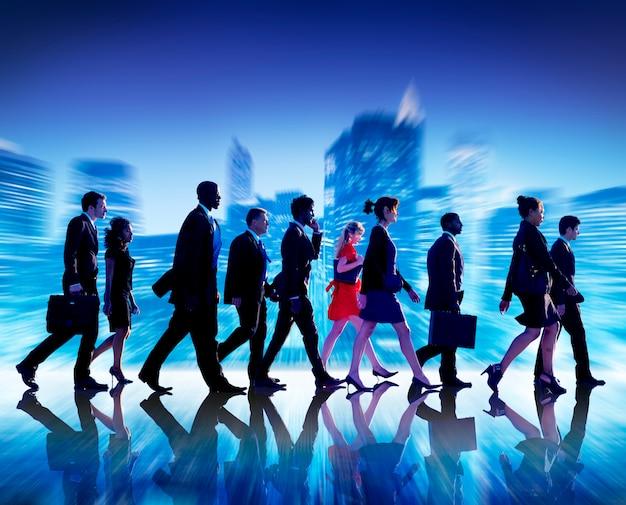 Los hombres de negocios la colaboración team teamwork professional concept
