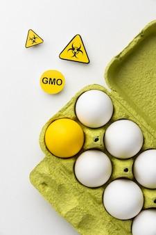 Huevos gmo ciencia comida