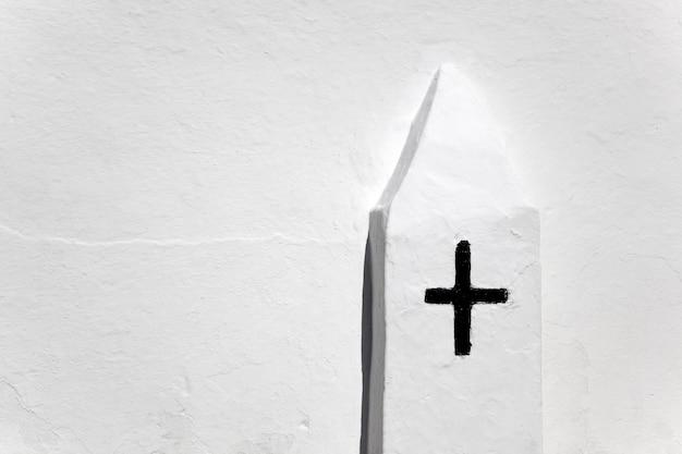 Ibiza sant mateu d albarca iglesia de san mateo cruz