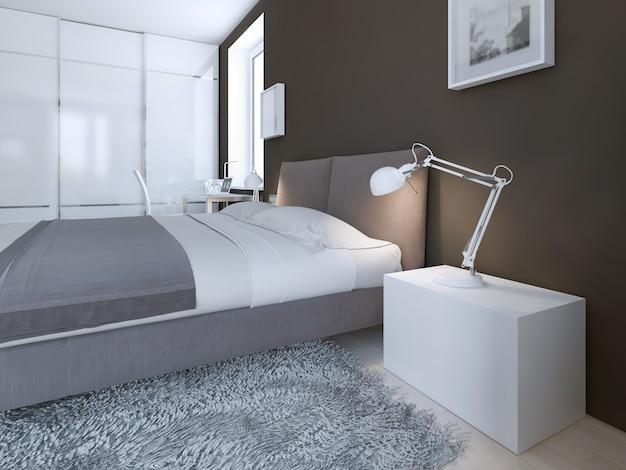 Idea de dormitorio contemporáneo
