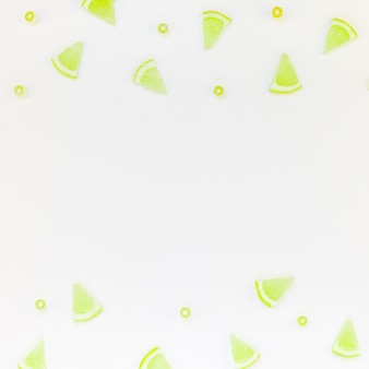 Idea de limonada de refresco de verano caliente