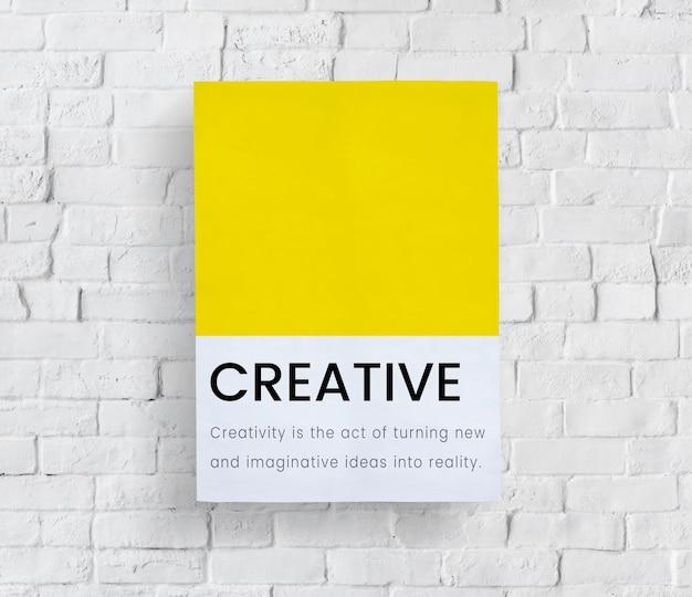 Ideas creativas nuevo diseño de estilo de invención.