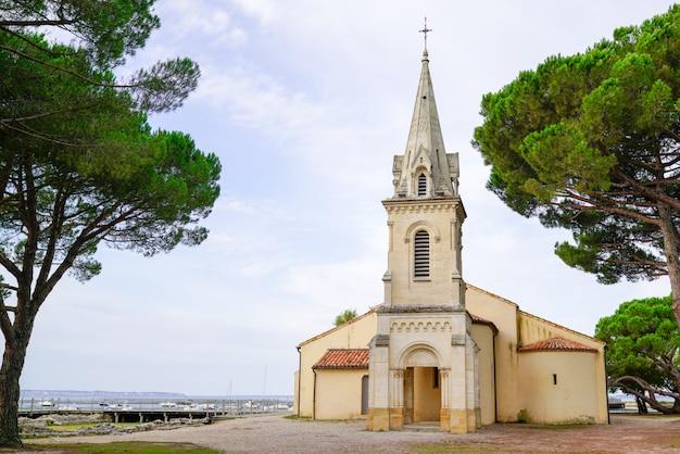 Iglesia de andernos saint eloi en bassin d'arcachon