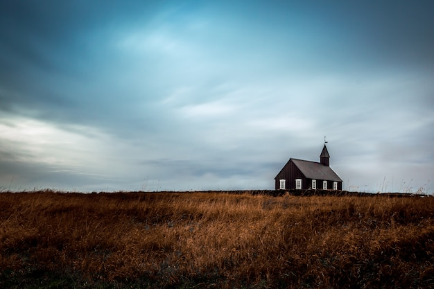 Iglesia budir - búðakirkja, islandia