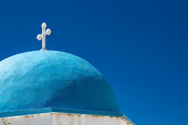 Iglesia de lefkes en paros, grecia