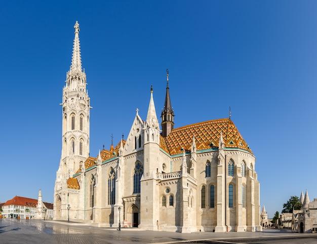 Iglesia de san mathias en budapest