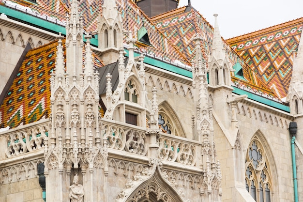 Iglesia de san matías en budapest