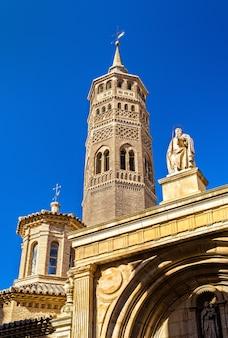Iglesia de san pablo en zaragoza españa región de aragón