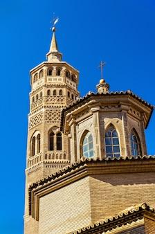 Iglesia de san pablo en zaragoza españa