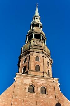 Iglesia de san pedro en riga