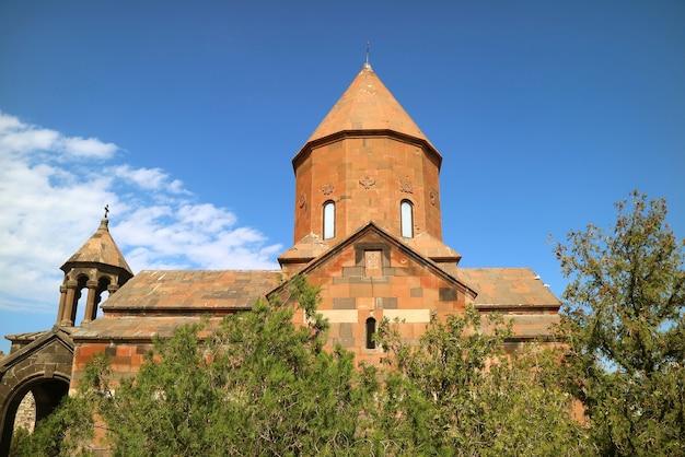 Iglesia de la santa madre de dios en el monasterio de khor virap, provincia de ararat de armenia