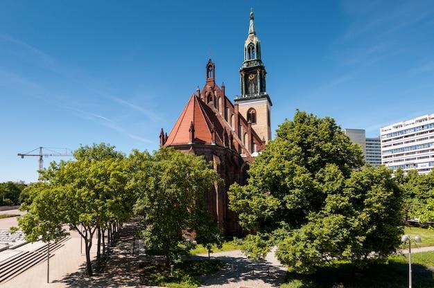 Iglesia de santa maría, berlín
