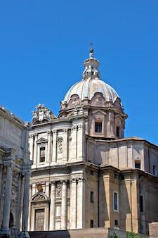 Iglesia santissimo nome di maria, roma, italia