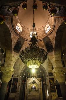Iglesia del santo sepulcro en jerusalén, israel