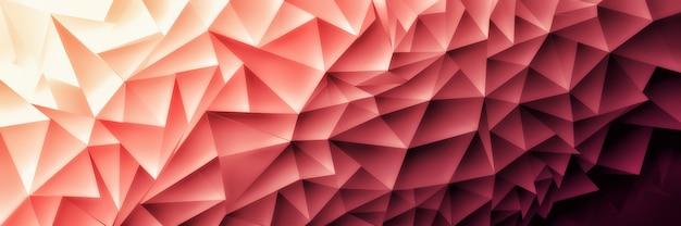 Ilustración 3d abstracto hermoso fondo poli, mosaico poligonal
