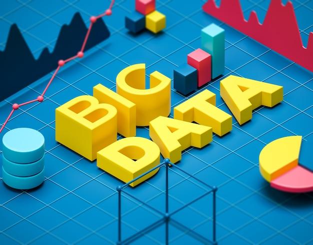 Ilustración de big data