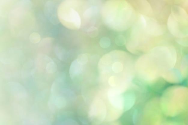 Ilustración de fondo con textura bokeh verde