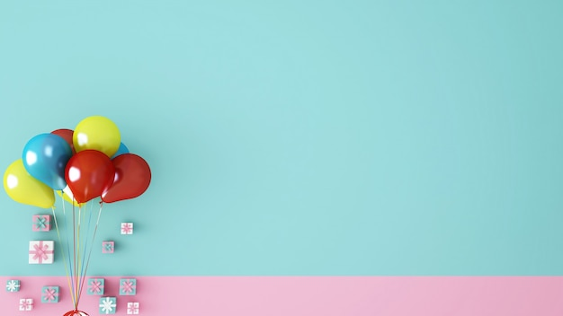 Ilustración de navidad 3d