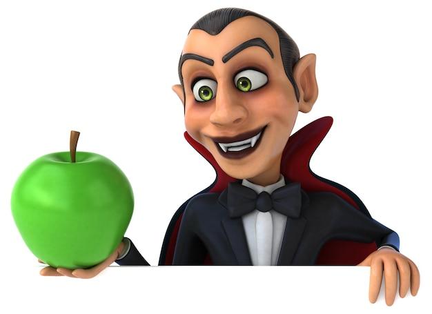 Ilustración de vampiro