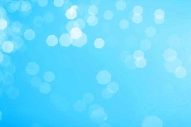Imagen de bokeh azul para el fondo