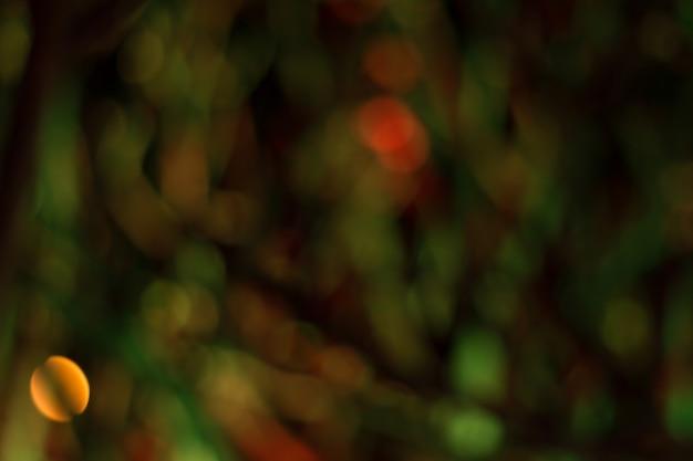 Imagen borrosa de luces festivas
