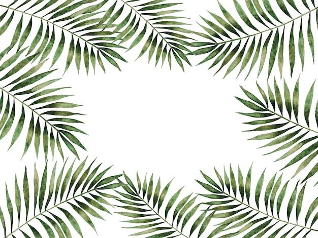 Imagen brillante con la imagen de plantas pintadas.