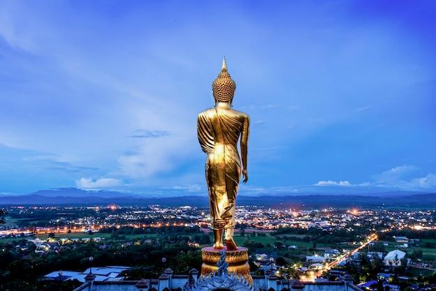 Imagen de buda, nan, tailandia