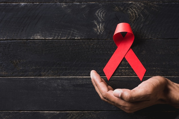 Imagen de fondo para el día mundial del sida.
