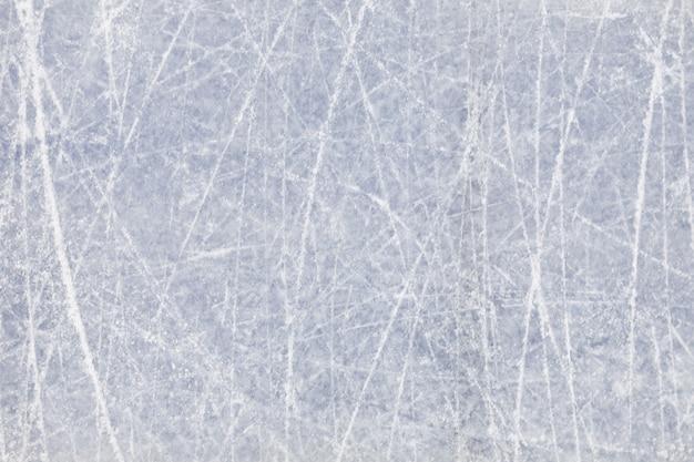 Imagen de fondo de hielo con textura en pista de patinaje