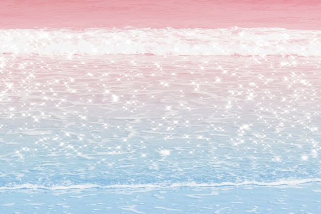 Imagen de fondo de las olas del océano ombre pastel