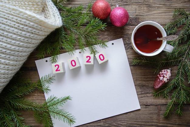 Imagen de navidad para el año nuevo 2020